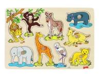 Puzzle pui de animale Africa