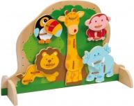 Set 5 animale cu şiret