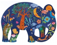 Puzzle 150 piese elefant