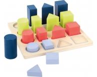 Puzzle forme geometrice 3D