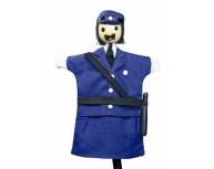 Marionetă pentru palmă poliţist 27 cm