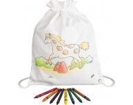 Rucsac pentru colorat ponei
