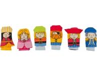 Set 6 marionete pentru deget piraţi