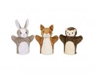 Set 3 marionete pentru palmă 25-30 cm