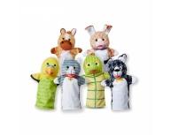 Set 6 marionete palmă animale