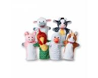 Set 6 marionete palmă fermă