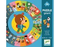 Puzzle podea circular O zi din viaţa mea