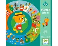 Puzzle podea circular Anotimpuri