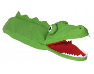 Marionetă pentru palmă crocodil 30 cm
