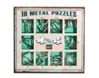 Set 10 puzzle metal Iq Game