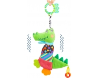 Pluş crocodil cu zornăitoare
