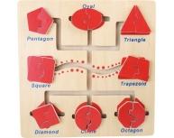 Puzzle forme labirint