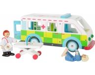Ambulanţă din lemn