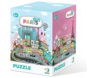 Puzzle 120 piese Paris