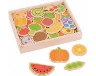 Set magneţi fructe şi legume